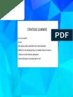 strategic learners