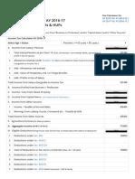 Income Tax Calculator AY 2016-17 (FY 2015-16)