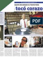 Un músico que tocó corazones - Diario Sin Fronteras (30.08.2016)