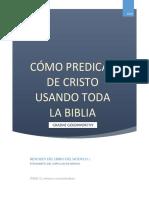 C222 MEX Resumen Libro Cómo Predicar de Cristo GOLDSWORTHY