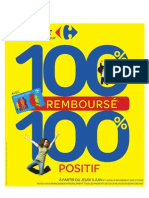 Catalogue Carrefour 100% Rembourse