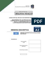 2.5 Memoria Descriptiva de Instalaciones Electricas