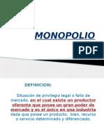 MONOPOLIO y Monopsonio