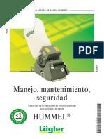 HUMMEL Manual Spanish