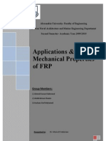 Applications & Mechanical Properties of FRP