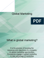Global Marketing 1