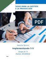 Reporte Taller PIMA industrial