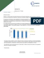 Informe de Evaluacion 2016