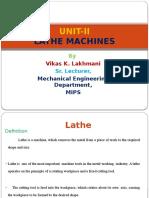 Lathe Machine & Operations