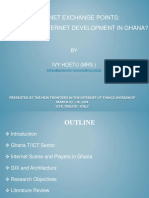 Internet Exchange Points_ the Panacea for Internet Devt in Ghana