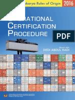 Operational Certification Procedure (OCP) FTA - 2016