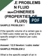 Sp 1 (Fluid Properties)