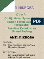 Anti Mikroba (Dr. Hj. Hasni Syam)