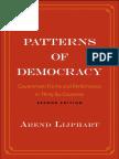 Patterns of Democracy - Arend Lijphart