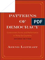 Patterns of Democracy - Arend Lijphart
