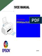 Epson Stylus Color 660 Service Manual