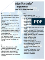 Bibliografia Leggere Tra Le Note 10.12.2015