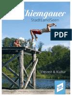 Chiemgauer Stadt Land Seen