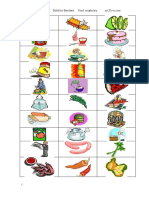 Food Vocabulary Dictation Exercises