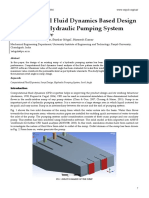 Computational Fluid Dynamics Based Design of Sump of a Hydraulic Pumping System—CFD Based Design of Sump