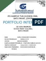 Cover Portfolio Sem 8