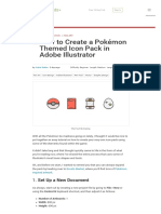 How to Create a Pokémon Themed Icon Pack in Adobe Illustrator