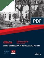 L'impact économique local du Campus de Sciences Po à Reims