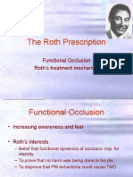 The Roth Philosophy n Prescription