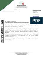 PM EinwanderungsgesPressemitteilung | Dr