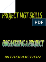 organizing a project.ppt