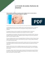 Dormir Mal y El Modo de Andar_factores de Riesgo de Alzheimer