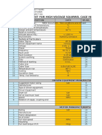 Data Sheet-HV Motors