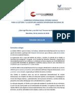 III CIRCULAR SIMPOSIO CÁTEDRA UNESCO SUBSEDE UNIVERSIDAD NACIONAL DE CUYO