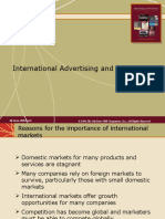 Internatinal Advertising and Promotion