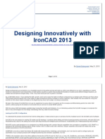 Designing Innovatively With IronCAD 2013