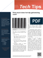 2013 How Much Does Galvanizing Cost