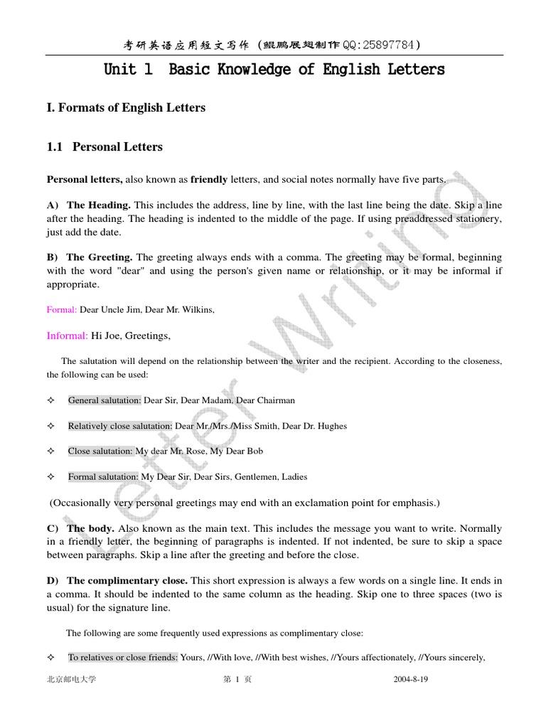 Letter Writing1 Text Semiotics