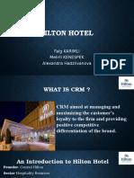 Hilton Hotel Case- Faig, Meiirli, Alex