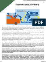 Pasos Para Organizar Un Taller Automotriz.pdf