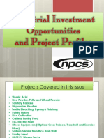 Industrial Investment Opportunities and Project Profiles