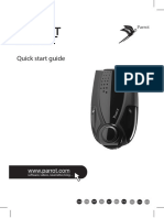 Parrot Minikit User Guide