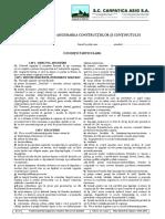 Anexa 2Conditii de Asigurare Particulare generale