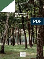 Rapport d'activité 2013 - Fondation pour la Mémoire de la Shoah