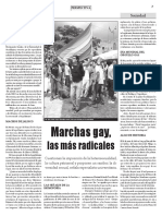 Marchas Gays Las Más Radicales