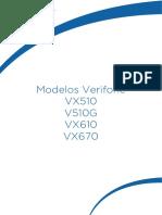 Manual Verifone VX510 V510G VX610 VX670