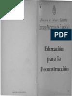 La Planta de Bartolo de La Torre de Cubos de Laura Devetech - Dia de La Memoria en Educación Para La Reconstruccion