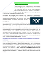Devaluación inflación con el impacto del cierre de las líneas de créditos en Venezuel (citibank)
