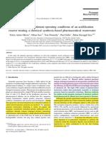 Oktem Et Al 2006 - Acidification Reactor for Pharma Waste