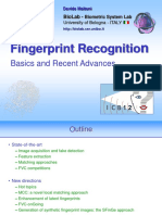 Fingerprint ICB2012
