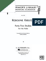 Kreutzer+42+Estudos+para+Viola edição 1.PDF